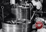 Image of manufacture of steel wire United States USA, 1943, second 61 stock footage video 65675031514