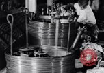 Image of manufacture of steel wire United States USA, 1943, second 62 stock footage video 65675031514