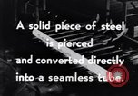 Image of production of seamless tubing United States USA, 1943, second 5 stock footage video 65675031515