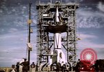 Image of V-2 rocket New Mexico United States USA, 1945, second 29 stock footage video 65675031549