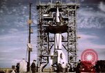 Image of V-2 rocket New Mexico United States USA, 1945, second 31 stock footage video 65675031549