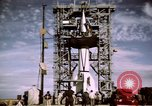 Image of V-2 rocket New Mexico United States USA, 1945, second 33 stock footage video 65675031549