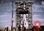 Image of V-2 rocket New Mexico United States USA, 1945, second 34 stock footage video 65675031549
