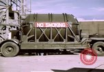 Image of V-2 rocket New Mexico United States USA, 1945, second 42 stock footage video 65675031549