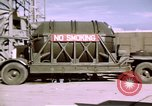 Image of V-2 rocket New Mexico United States USA, 1945, second 43 stock footage video 65675031549