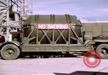 Image of V-2 rocket New Mexico United States USA, 1945, second 44 stock footage video 65675031549