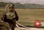 Image of V-2 rocket New Mexico United States USA, 1945, second 46 stock footage video 65675031549