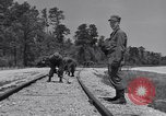 Image of Railroad safety United States USA, 1951, second 45 stock footage video 65675031553