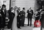 Image of Well dressed African-Americans waiting at a school near a Tennessee Emergency relief camp Tennessee USA, 1936, second 8 stock footage video 65675031562