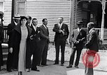 Image of Well dressed African-Americans waiting at a school near a Tennessee Emergency relief camp Tennessee USA, 1936, second 9 stock footage video 65675031562