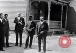 Image of Well dressed African-Americans waiting at a school near a Tennessee Emergency relief camp Tennessee USA, 1936, second 11 stock footage video 65675031562
