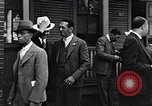 Image of Well dressed African-Americans waiting at a school near a Tennessee Emergency relief camp Tennessee USA, 1936, second 29 stock footage video 65675031562