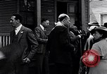 Image of Well dressed African-Americans waiting at a school near a Tennessee Emergency relief camp Tennessee USA, 1936, second 31 stock footage video 65675031562