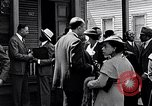Image of Well dressed African-Americans waiting at a school near a Tennessee Emergency relief camp Tennessee USA, 1936, second 32 stock footage video 65675031562