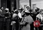 Image of Well dressed African-Americans waiting at a school near a Tennessee Emergency relief camp Tennessee USA, 1936, second 33 stock footage video 65675031562