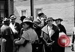 Image of Well dressed African-Americans waiting at a school near a Tennessee Emergency relief camp Tennessee USA, 1936, second 35 stock footage video 65675031562