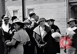Image of Well dressed African-Americans waiting at a school near a Tennessee Emergency relief camp Tennessee USA, 1936, second 36 stock footage video 65675031562