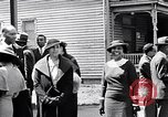 Image of Well dressed African-Americans waiting at a school near a Tennessee Emergency relief camp Tennessee USA, 1936, second 38 stock footage video 65675031562