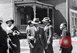 Image of Well dressed African-Americans waiting at a school near a Tennessee Emergency relief camp Tennessee USA, 1936, second 41 stock footage video 65675031562