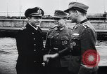 Image of German Army officers visit a Kriegsmarine base Germany, 1944, second 7 stock footage video 65675031600
