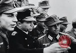 Image of German Army officers visit a Kriegsmarine base Germany, 1944, second 26 stock footage video 65675031600