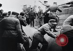 Image of German Army officers visit a Kriegsmarine base Germany, 1944, second 30 stock footage video 65675031600