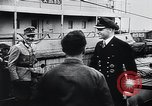 Image of German Army officers visit a Kriegsmarine base Germany, 1944, second 36 stock footage video 65675031600