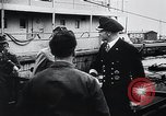 Image of German Army officers visit a Kriegsmarine base Germany, 1944, second 37 stock footage video 65675031600