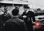Image of German Army officers visit a Kriegsmarine base Germany, 1944, second 38 stock footage video 65675031600