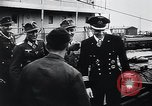 Image of German Army officers visit a Kriegsmarine base Germany, 1944, second 39 stock footage video 65675031600
