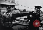 Image of German Army officers visit a Kriegsmarine base Germany, 1944, second 40 stock footage video 65675031600
