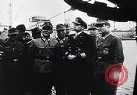 Image of German Army officers visit a Kriegsmarine base Germany, 1944, second 44 stock footage video 65675031600