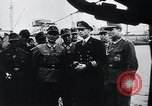 Image of German Army officers visit a Kriegsmarine base Germany, 1944, second 46 stock footage video 65675031600