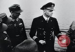 Image of German Army officers visit a Kriegsmarine base Germany, 1944, second 49 stock footage video 65675031600
