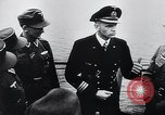 Image of German Army officers visit a Kriegsmarine base Germany, 1944, second 50 stock footage video 65675031600