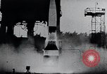 Image of A-4 missile Peenemunde Germany, 1942, second 60 stock footage video 65675031614