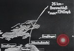Image of A-4 missile Peenemunde Germany, 1942, second 27 stock footage video 65675031616