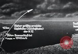 Image of A-4 missile Peenemunde Germany, 1942, second 52 stock footage video 65675031616