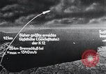 Image of A-4 missile Peenemunde Germany, 1942, second 55 stock footage video 65675031616