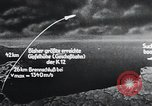 Image of A-4 missile Peenemunde Germany, 1942, second 56 stock footage video 65675031616