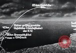 Image of A-4 missile Peenemunde Germany, 1942, second 62 stock footage video 65675031616