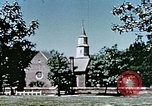 Image of College of William and Mary Williamsburg Virginia USA, 1944, second 29 stock footage video 65675031618