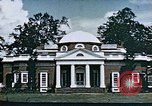 Image of Monticello Charlottesville Virginia USA, 1944, second 62 stock footage video 65675031619