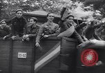 Image of Blue Division Spanish soldiers Madrid Spain, 1942, second 15 stock footage video 65675031637