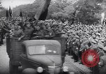 Image of Blue Division Spanish soldiers Madrid Spain, 1942, second 22 stock footage video 65675031637