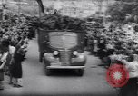 Image of Blue Division Spanish soldiers Madrid Spain, 1942, second 32 stock footage video 65675031637