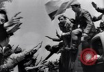 Image of Blue Division Spanish soldiers Madrid Spain, 1942, second 39 stock footage video 65675031637