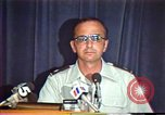 Image of American Air Force officer speaks about human rights in Nicaragua Nicaragua, 1983, second 20 stock footage video 65675031643