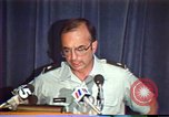Image of American Air Force officer speaks about human rights in Nicaragua Nicaragua, 1983, second 23 stock footage video 65675031643