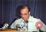 Image of American Air Force officer speaks about human rights in Nicaragua Nicaragua, 1983, second 24 stock footage video 65675031643
